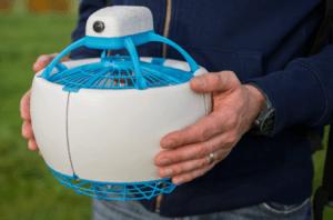Los drones esféricos y sin aspas exteriores
